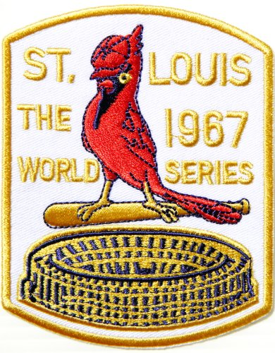 Cardinals WORLD SERIES ST.LOUIS 1967 MLB Baseball Team Logo Jacket T Shirt Patch Sew Iron on Embroidered Badge Sign at Amazon.com