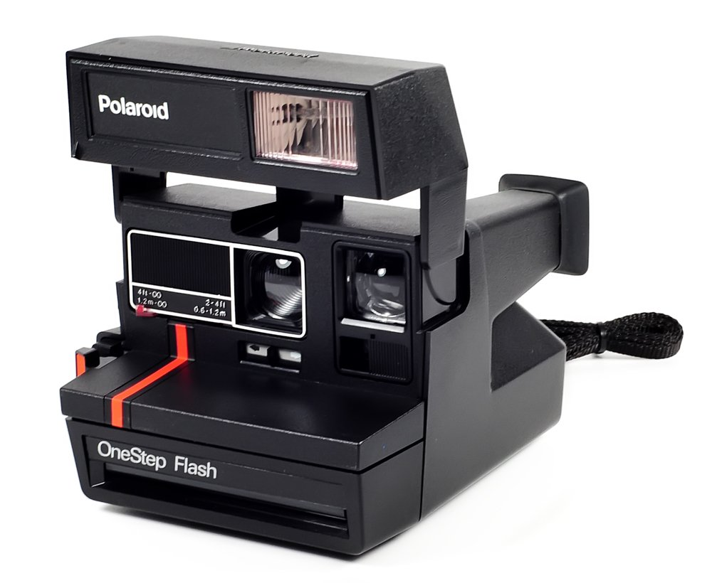 Vintage Polaroid One Step Flash Camera 0