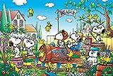 Amazon.co.jp1000ピース ジグソーパズル めざせ!パズルの達人 スヌーピー 空き地の想い出(50x75cm)