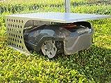 Robot cortacésped Garage/CarPort/acero inoxidable pulido/robo Motel
