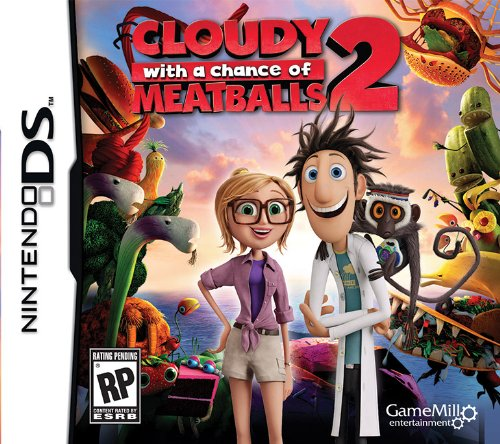 Cloudy Chance Meatballs 2 DS - Nintendo DS - 1