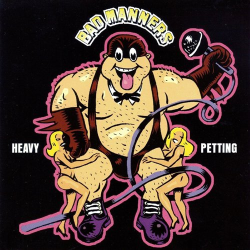 Original album cover of HEAVY PETTING by Bad Manners
