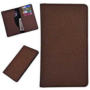 DCR Pu Leather case cover for Blu Tank 4.5 (brown)