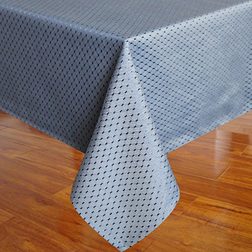 Eforcurtain fashion waffle weave fabric table cover for Table runners 52 inches