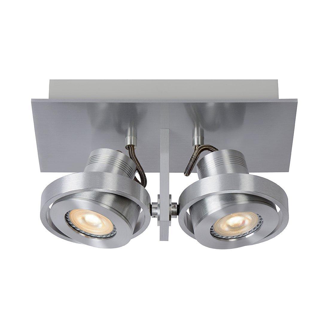 Zuiver 5500610 Luci-2 LED, Stahl, minium