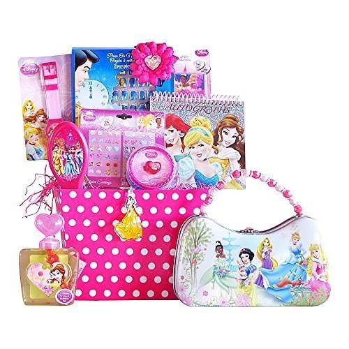 Toddler birthday gift baskets unique ideas for boys and girls disney princess easter gift basket perfect for girls 3 8 years old amazon price 9599 6199 buy now price as of mar 26 2016 negle Images