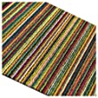 Chilewich Shag Skinny Stripe Utility Mat - Multi Color