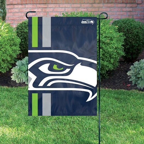 Party-Animal-Seattle-Seahawks-NFL-Dye-Sublimated-Bold-Logo-Garden-Flag