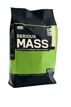 Optimum Nutrition – Serious Mass Vanilla – 12 lbs.