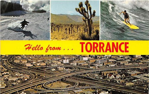 Torrance, California Postcard