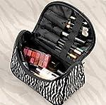 Fashion Zebra Pattern Lady Makeup Bag...