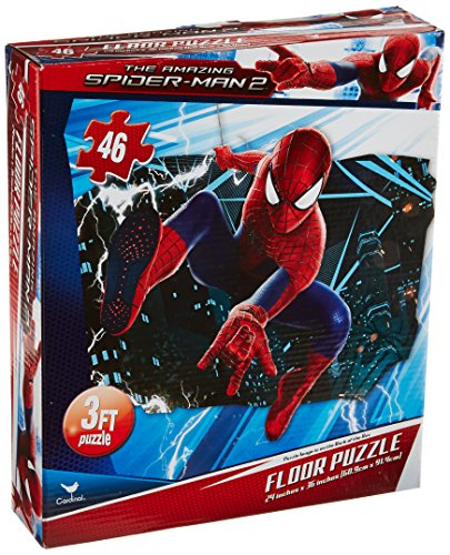 Spiderman Floor Puzzle 46 Count Styles Will Vary