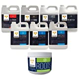 Remo Nutrients Start Kit Bundle: 1 Liter Of Bloom, Micro, Grow, Velokelp, Astroflower, Nature's Candy, Magnifical & 2 OZ Roots Gel