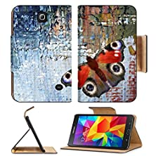 buy Samsung Galaxy Tab 4 7.0 Inch Flip Pu Leather Wallet Case Abstract Background With Butterfly Oil Paints On Canvas Image 31913136 By Msd Customized Premium