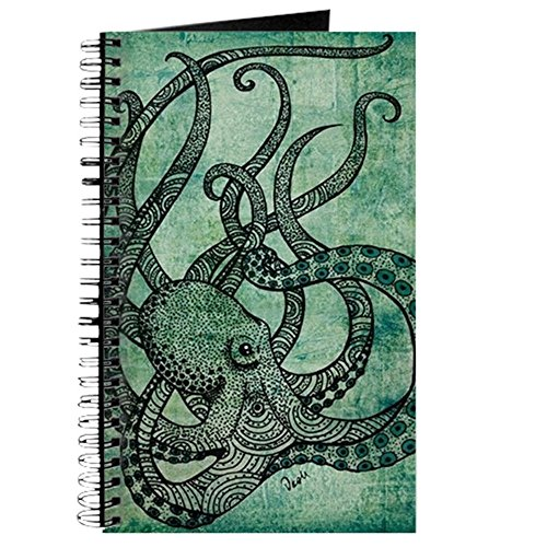 Octopus - Spiral Bound Journal Notebook