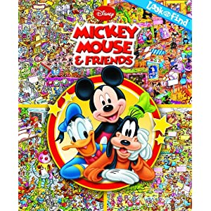 Look and Find: Mickey Mouse & Friends