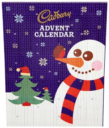 Advent Calendar 2016 Chocolate : Chocolate advent calendar