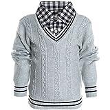 Kinder Hoodie Strick Pullover Jacke Langarm Sweat Shirt...