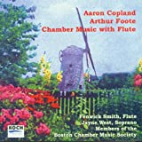 Image of Aaron Copland, Arthur Foote: Chamber Music with Flute