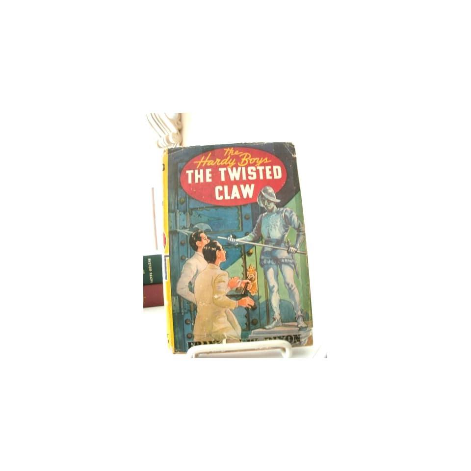Hardy Boys 018 Twisted Claw 1ST Edition Franklin Dixon Books