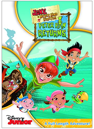 Jake And The Never Land Pirates: Peter Pan Returns (Peter Pan And The Pirates Dvd compare prices)