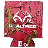 Realtree Outfitters Brand Logo Sports Drink Beer Water Soda Beverage Can Insulated Picnic Outdoor Party Beach BBQ Kooler Can Cooler - 12oz Magnetic Pink Koozie