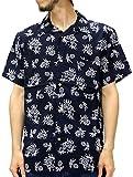 (スタイルバイオリジナルス) Style by Originals POWER JEANS VALUE アロハシャツ 半袖 シャツ レーヨン ハイビスカス 10color M 柄4