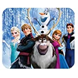 Hot Cartoon Frozen Design Cloth Cover Rectangle Mouse pad Mousepad069