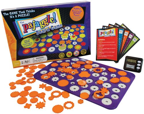 Pajaggle Board Set (Purple Board/Orange Pieces) - 1