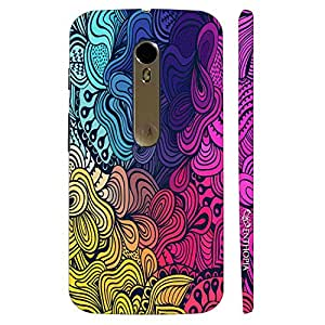Enthopia Designer Hardshell Case Colour Coral Back Cover for Motorola Moto X Style