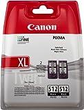 Canon PG-512 - Cartucho de tinta original, negro