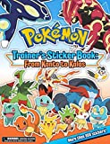 Pokemon Trainer s Sticker Book: From Kanto to Kalos