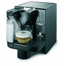 DeLonghi EN670.B Nespresso Lattissima Single-Serve Espresso Maker, Black