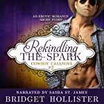 Rekindling the Spark: Cowboy Casanova, Book 2 (       UNABRIDGED) by Bridget Hollister Narrated by Sasha St. James