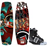 Liquid Force Watson Hybrid Wakeboard 139 Mens + Element Bindings Sz 8-12 by Liquid Force