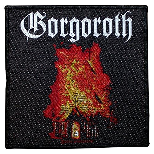 Gorgoroth Logo Church Patch Tessuto 10x 10cm