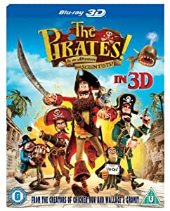 The Pirates! In an Adventure with Scientists (Blu-ray 3D) [2012]