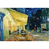 Magic Slice Non-Slip Flexible Cutting Board, Party Size 7.5 x 11, Café Terrace at Night by Vincent Van Gogh