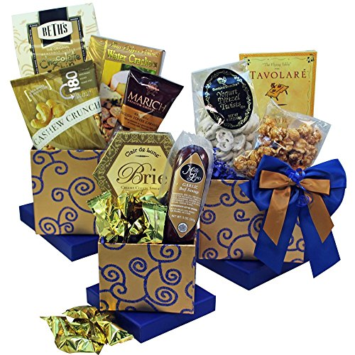 Art of Appreciation Gift Baskets Crowd Pleaser Meat, Cheese and Snacks Gift Tower (Meat Shipping Box compare prices)