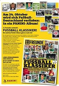 Sticker Panini 5 Stück 11 Freunde Fussball Klassiker, 50 Stück