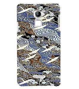 PrintVisa Ethnic Art Pattern 3D Hard Polycarbonate Designer Back Case Cover for Coolpad Note 3 Lite