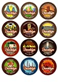 Grocery - Brooklyn Beans Variety Pack Coffee K-Cups for Keurig Brewers, 40 Count