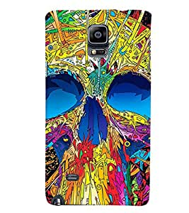 GADGET LOOKS PRINTED BACK COVER FOR SAMSUNG GALAXY NOTE 4 MULTICOLOUR