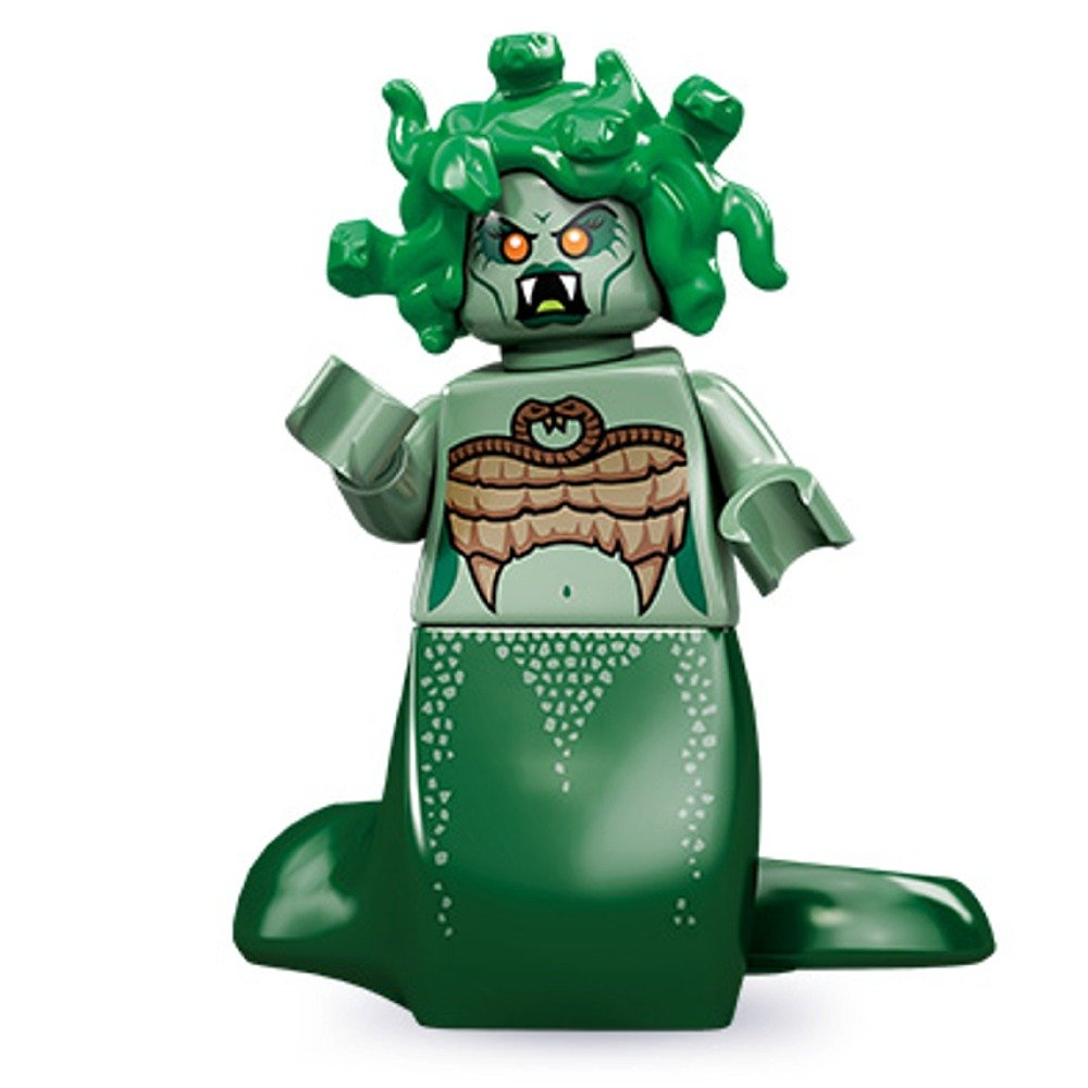 Lego 71001 Series 10 Minifigure Medusa дрель ударная bosch gsb 16 re professional [060114e500]
