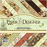 Eno Greeting Size 8X8 Inch 20 Design 40 Sheet Patterned Paper / Craft Paper/ Origami Paper DSM002