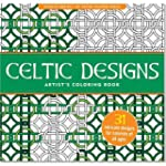 Celtic Designs Adult Coloring Book (3...