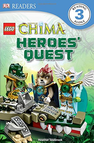 Lego Legends of Chima: Heroes' Quest (Dk Readers. Lego)