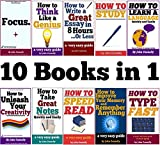 10 Books in 1 (Short Reads): Improve Memory, Speed Read, Note Taking, Essay Writing, How to Study, Think Like a Genius, Type Fast, Focus: Concentrate, ... (The Learning Development Book Series)