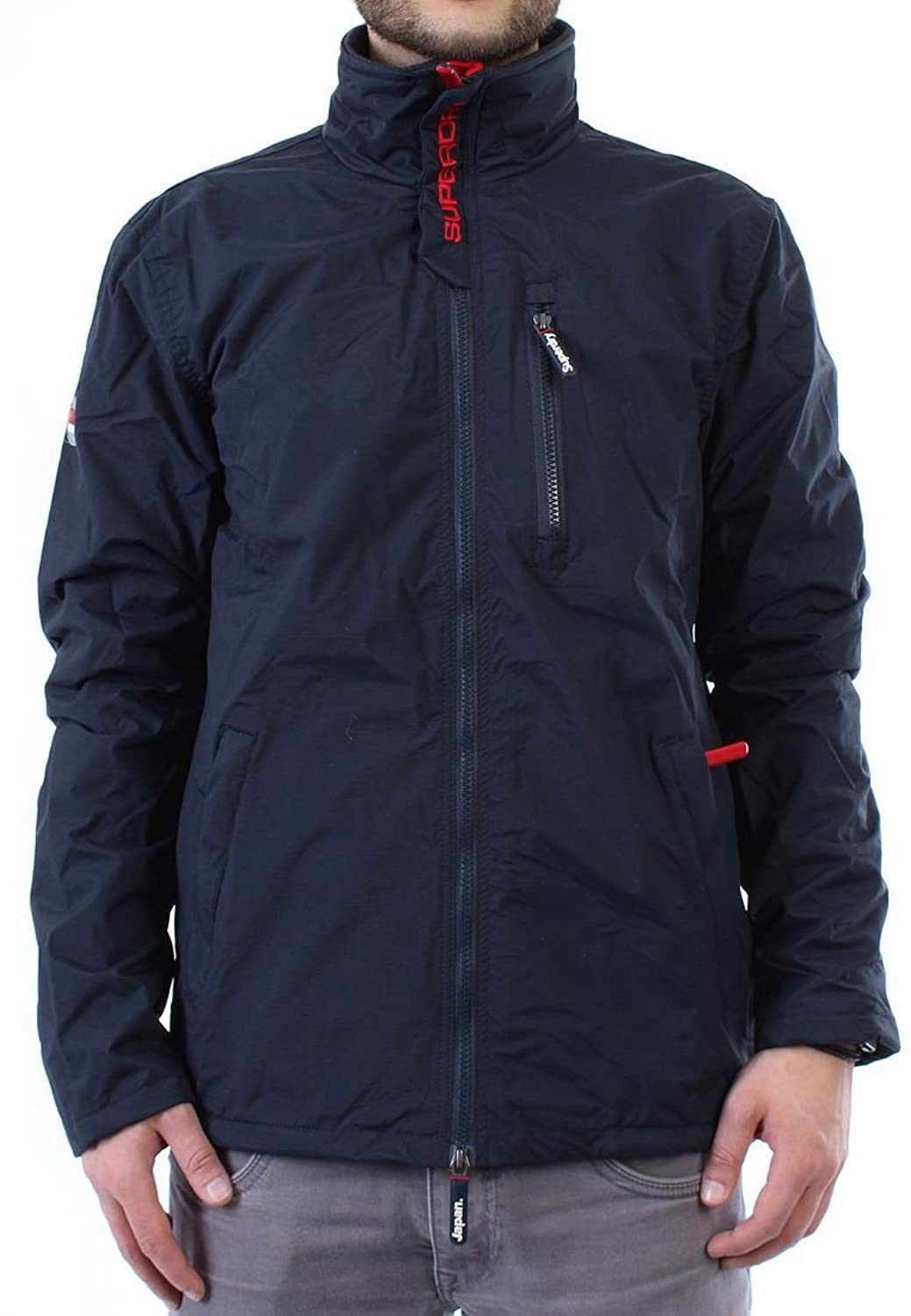 Superdry Windcheater Men POLAR WINDHIKER Navy-Rebel Red