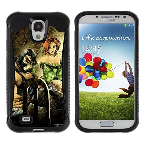 """ZAKO Cases / Samsung Galaxy S4 I9500 / """"Poison Ivy / Robusto Antiurto Custodia Portafoglio Snello caso copertura Shell armatura Case Cover Slim Armor"""